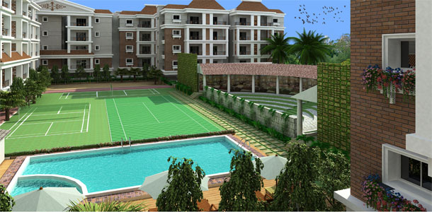 luxury apartments exterior.  2bhk luxury apartments in Whitefield Bangalore 3bhk for apartment sale